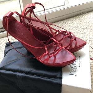 YSL Slingback Shoes 👠